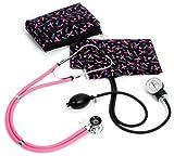 Prestige Medical A2-prb Sprague / Sphygmomanometer Kit With Carrying Case Pink Ribbon Black