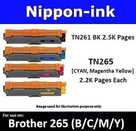 Nippon-ink TN261 For Use on Brother Laser Colour Toners - HL-3150CDN, HL-3170CDW, MFC-9140CDN, MFC-9330CDW, Black