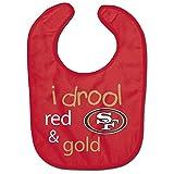 WinCraft NFL San Francisco 49ers WCRA1963624 All Pro Baby Bib