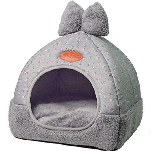 XINHC kleine huisdier hondenhuis deken matras huisdier tent opvouwbare matras (rooster grijs)