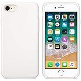 CABLEPELADO Funda Silicona iPhone 7/8 Textura Suave Blanco