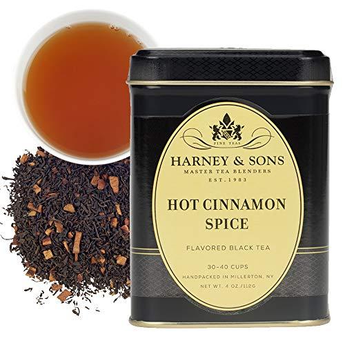 Harney amp Sons Hot Cinnamon Spice Loose Leaf Black tea 4 Ounce tin