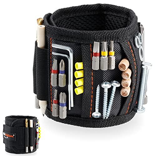Regalos para hombres, herramienta de pulsera magnética, ideas de regalo, para hombres, solo sujetar...