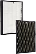 Alexapure Breeze Certified Replacement Filters – 1 True HEPA Filter and 1 Activated Carbon Filter