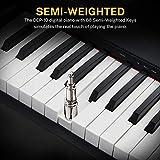 Immagine 2 donner portatile pianoforte digitale 88
