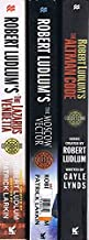 Robert Ludlum's Covert-One Series, 5 Books: The Lazarus Vendetta / The Moscow Vector / The Altman Code / The Paris Option ...