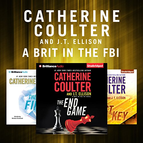 Catherine Coulter and J. T. Ellison - A Brit in the FBI Series audiobook cover art