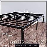 Zoom IMG-1 dreamzie struttura letto metallo 160x200