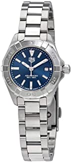 9f7190fcc68 Tag Heuer Aquaracer Blue Dial Ladies Watch WBD1412.BA0741