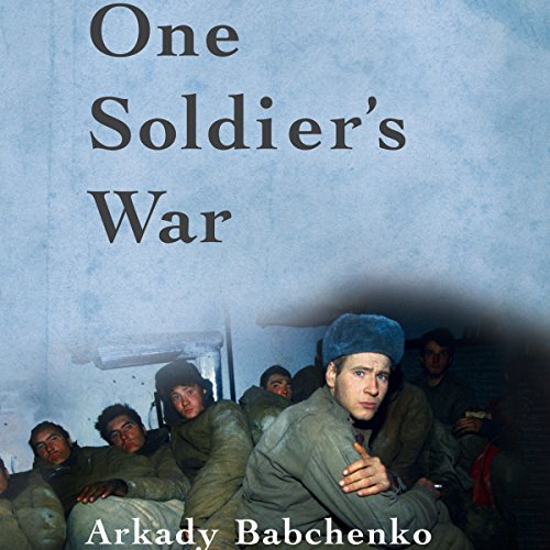 One Soldier's War audiobook cover art