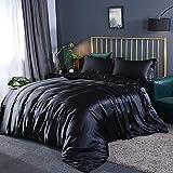 Bocotous Ropa de Cama Infantil,Double Bed Satin Duvet Cover