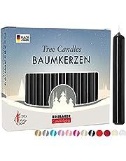 BRUBAKER Trädljus Vax - Julljus Pyramidljus Julgransljus - Flerfärgat