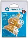 Bébé Confort Tétine Maternity en Latex T2 3 Vitesses Transparent 6-24 Mois (Lot de...