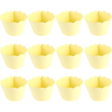50Pcs Cartoon Paper Cupcake Cups Disposable Muffin Cup Heat-resistant for Baking