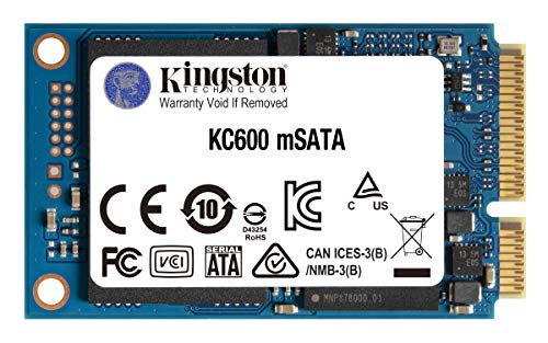 Kingston KC600 SSD 1024GB SATA3 mSATA - SKC600MS/1024G