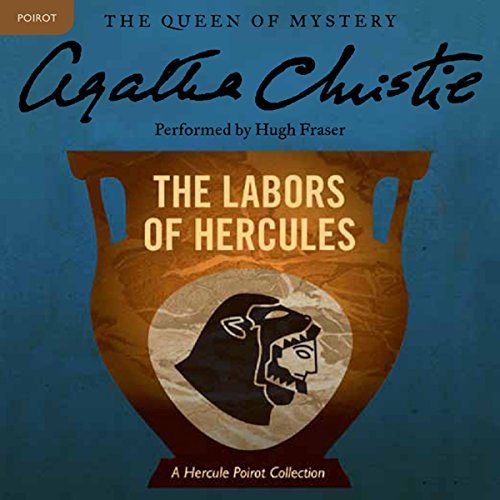 The Labors of Hercules audiobook cover art