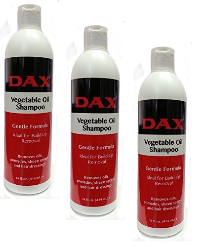 3x Dax Vegetable Oil Shampoo 355ml (insgesamt - 1065ml)