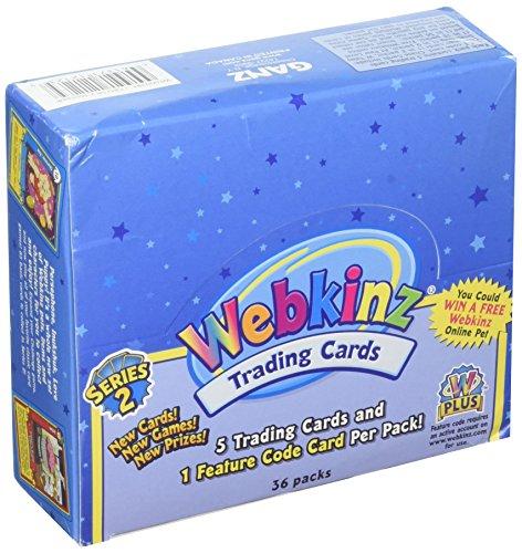 Webkinz Trading Cards Series 2 Sealed Box 36 Packs