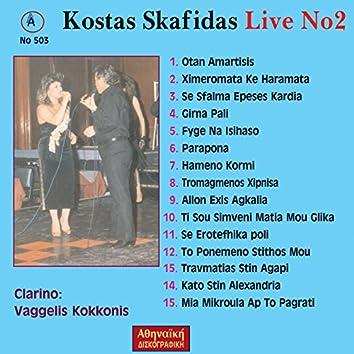 Kostas Skafidas Live No2