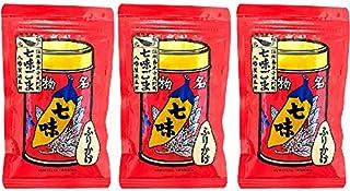 八幡屋礒五郎 七味ごま 袋入 60g ×3袋セット