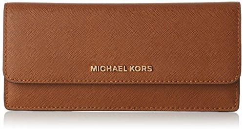 Michael Kors Jet Set Travel - Borse a secchiello Donna, Brown (Luggage), 0.6x10.2x19.7 cm (W x H L)
