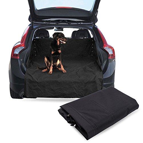 Pro Plus Tapis de protection pour coffre Noir 110 x 80 x 40 cm Avec protection de seuil de chargement