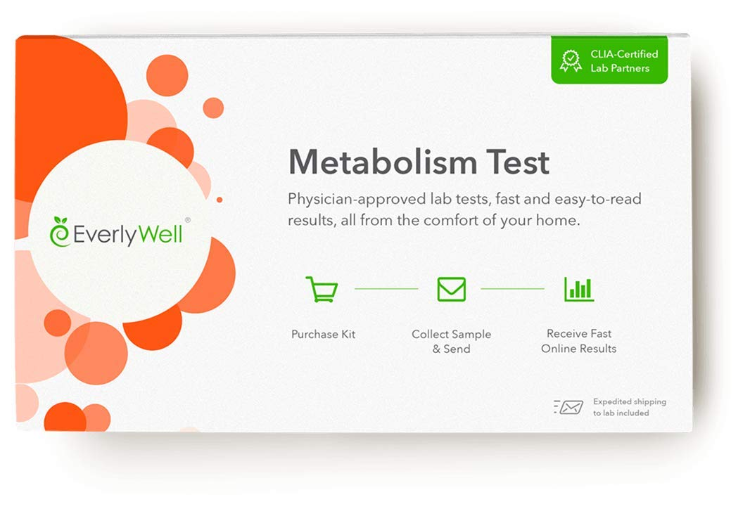 EverlyWell at Home Metabolism Shark Available