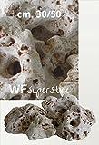 Roca Antiguo cm. 30/50–Guijarros Piedras Muro Jardín