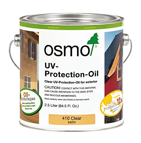OSMO Clear UV Oil Wood Finish 2.5L