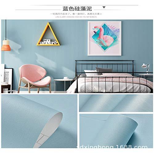 LZYMLG Pvc American Retro 3d Three-dimensional Flower Wallpaper Bedroom Living Room Children's Room Cabinet Sticker Wall Sticker 8804-1 0.53 * 3m