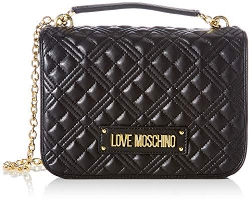 Love Moschino Ss21 - Bolso de hombro para mujer, colección Primavera Verano 2021, Normal Negro Size: Normal