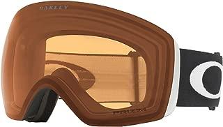 Oakley Flight Deck Adult Snowmobile Goggles - Matte Black/Prizm Persimmon/One Size