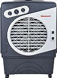Honeywell Verdunstungsluftkühler, kühlt und reinigt die Luft bis 80 m², 60 L Wassertank, energieeffizient, grau, CO60PM