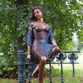 Bronze Gartenfigur & Skulptur für den Garten -