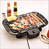 Sisliya Electric Barbeque Grill 2000w Tandoori Maker Model -2021 Electric BBQ Grill with Advanced Infrared Technology, for Home Camping(Black)