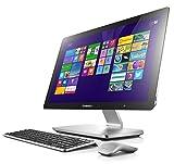 Lenovo A540 23.8-inch Touchscreen All-in-One Desktop (Silver) - (Intel Core i5-4258U 2.40 GHz, 8 GB RAM, Intel HD Graphics, HDMI, TV Tuner, Bluetooth, Wi-Fi , Windows 8.1)