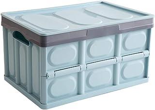 Voroly Car Trunk Organizer Car Boot Organiser Environmental Friendly Plastic Foldable Car Boot Storage Organiser for Car/SUV/Truck/Auto (Sky-Blue)