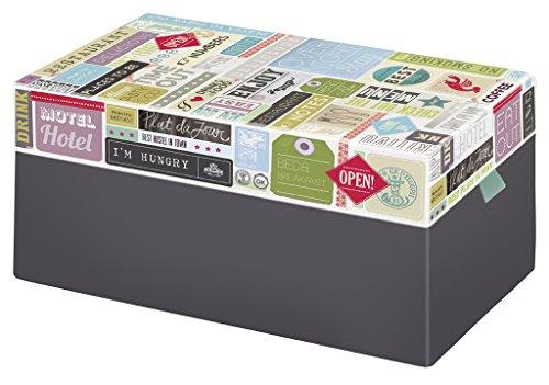 Moses Verlag 82322 Fernweh Caja para tarjetas de visita.