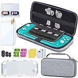 BEBONCOOL 14-In-1 Nintendo Switch Lite Tasche Zubehör,Multifunktional Nintendo Switch Lite Hülle mit Vollständigem Schutz, Switch Lite Tasche mit Anti-Extrusions-Design, Switch Lite Hülle für Nintendo