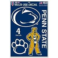 WinCraft NCAA ペンシルバニア州立大学 WCR42677014 多目的デカール 11インチ x 17インチ