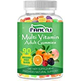 Vitamin Gummies - Nutrition Multivitamin Gummies for Men and Women - 90 Count - Immune Support, Brain, Joint & Cardiovascular Health, Vegetarian Friendly Gummies