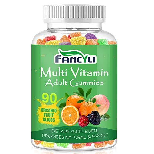 Vitamin Gummies - Nutrition Multivitamin Gummies for Men and Women - 90 Count - Immune Support, Brain, Joint & Cardiovascular Health, Vegetarian Friendly Gummies