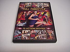 Full Throttle 10 Action Movies, Killing Down, The Scratch, Raging Inferno, The Lawless, Street Revenge, Emulation, Murder On The Bordor, Silent Sam, Circle Of Fury, Templar Nation