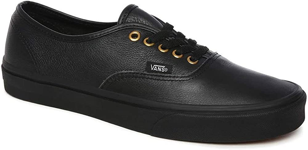 Vans Authentic Leather Sneakers Black