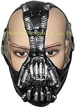 Hytmask Cosplay Máscara de Batman para adultos, el caballero oscuro eleva la película Bane