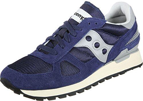 Saucony Shadow Original Vintage, Zapatillas de Gimnasia Unisex Adulto, Azul (Navy/White 3), 40 EU