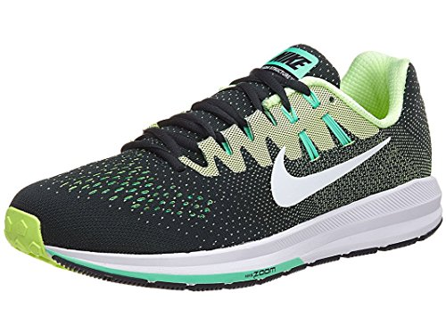 Nike Men's Air Zoom Structure 20 Running Shoe (11, Seaweed/White-Ghost Green)