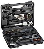 XLC Unisex– Erwachsene Werkzeugkoffer TO-S61, Schwarz, One Size