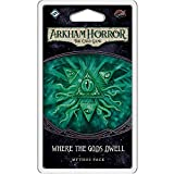 Arkham Horror The Card Game Where The Gods Dwell Mythos Pack   Horror Game   Mystery Game   Cooperative Card Game   Ages 14+   1-2 Players   Average Playtime 1-2 Hours   Made by Fantasy Flight Games