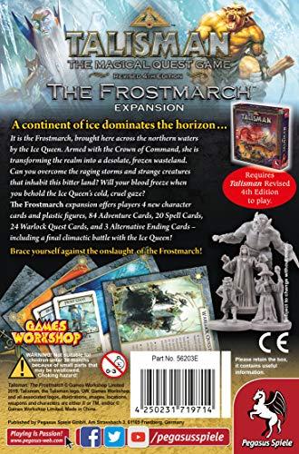 Pegasus Spiele 56203E Talisman The Frostmarch - Juego de Mesa [Importado de Alemania]
